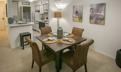Dining Room, Summer Ridge Apartments, 1
