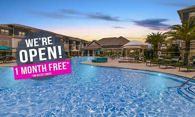 Pool, Cue Luxury Apartments, 0