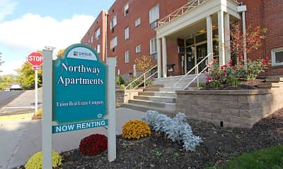 Building, Northway Apartments, 1