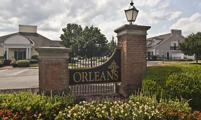 Community Signage, Orleans, 2