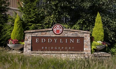 Community Signage, Eddyline At Bridgeport Apartments, 2