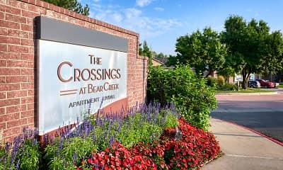 Community Signage, The Crossings at Bear Creek, 2