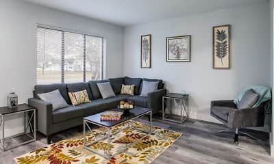 Living Room, Sycamore Townhomes, 0
