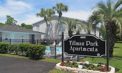 Building, Tillman Park Apartments, 1