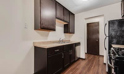 Kitchen, Oaks Braemar, 1