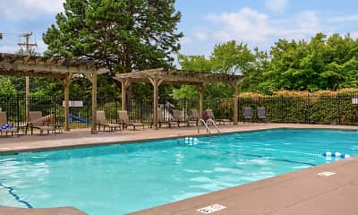 Pool, Foxcroft Apartments, 0