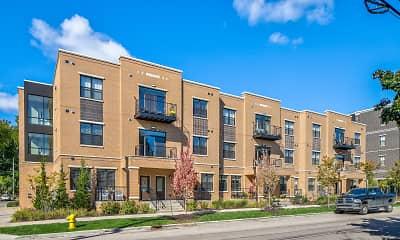 Building, Fulton Square, 0