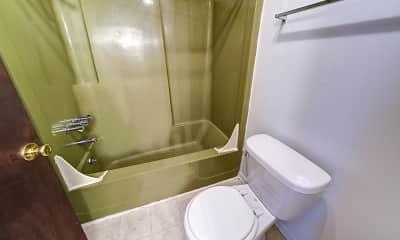 Bathroom, Terra Trace Apartments, 2