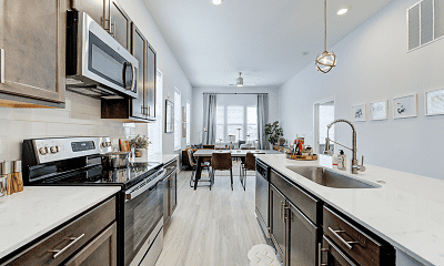 Kitchen, Pullman Pointe, 1