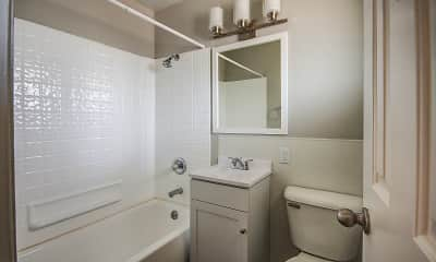 Bathroom, Franklin Flats, 2