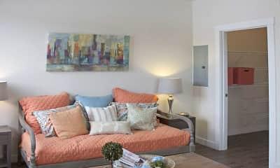 Living Room, Talus Apartments, 0