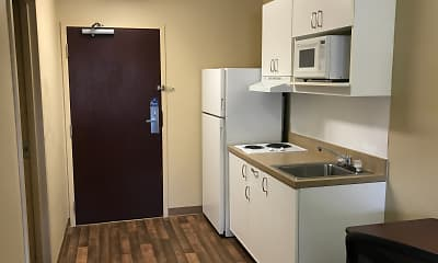 Kitchen, Furnished Studio - Boise - Airport, 1