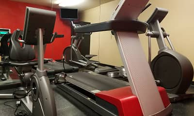 Fitness Weight Room, Furnished Studio - Cincinnati - Florence - Meijer Dr., 2