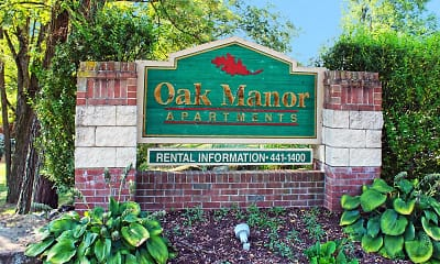 Community Signage, Oak Manor, 0