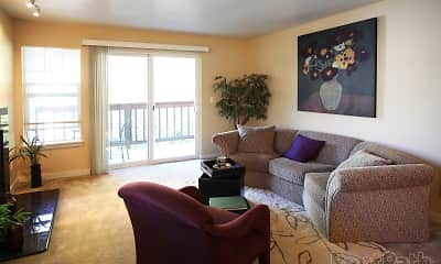 Living Room, The Overlook at Westridge, 2