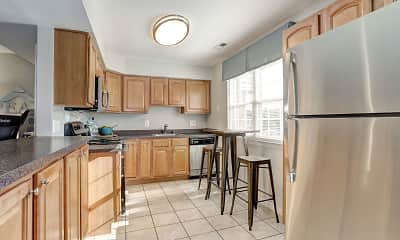 Kitchen, Olde Forge Townhomes, 1