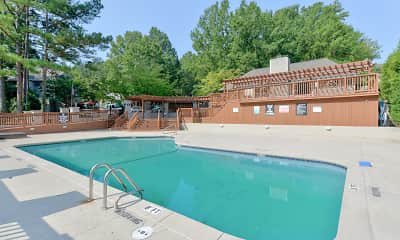 Pool, Edwards Mill Townhomes and Apartments, 0