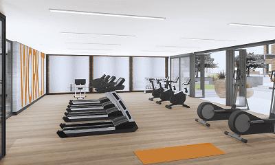 Fitness Weight Room, Aspire, 2