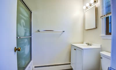 Bathroom, Candlelight Apartments, 2