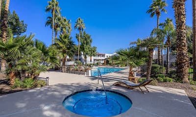 Pool, The Tides at Paradise Valley, 1