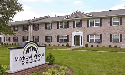 Community Signage, Markwell Village Apartments, 0
