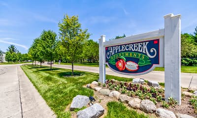 Community Signage, Applecreek, 2