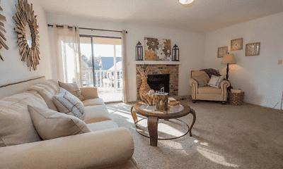 Living Room, Mark Apts, 0