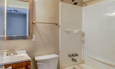 Bathroom, Upland Townhomes, 2