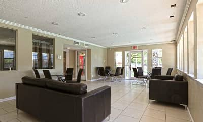 Clubhouse, Jackson Square Apartments, 1