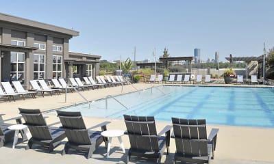 Pool, Peninsula at Buckhead, 0