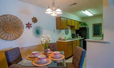 Dining Room, Cedar Glade, 2