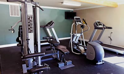 Fitness Weight Room, Sierra Sage, 2