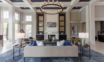 Living Room, Windsor Townhomes and Apartments, 0