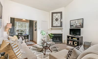 Living Room, Walnut Creek, 1