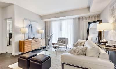 Living Room, Oaks of Vernon Hills, 1