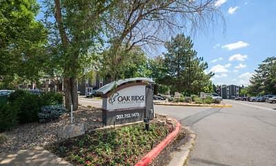Community Signage, Oak Ridge Apartments, 2