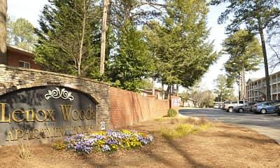 Community Signage, Lenox Woods, 1