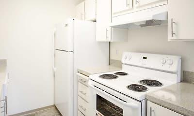 Kitchen, Park Ballinger Apartments, 0