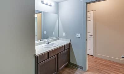 Bathroom, Villas at Hayden North, 2