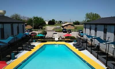 Pool, Western Oaks, 1