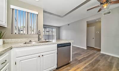 Kitchen, The Galleria Apartment Homes, 2