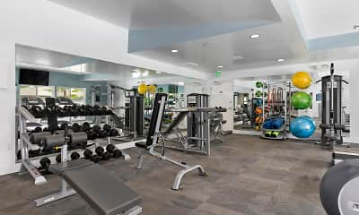 Fitness Weight Room, The Benson, 1