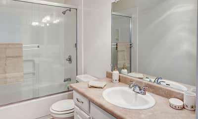 Bathroom, Appletree Apartments, 2