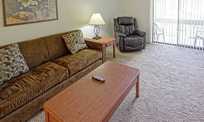 Living Room, Pennswood Apartments & Townhomes, 1