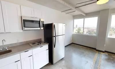 Kitchen, Loft 205, 1