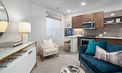 Living Room, The Nicholas, 2