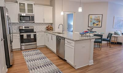 Kitchen, Hawthorne At Pine Forest Apartment Homes, 0