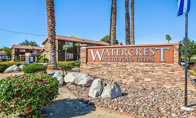 Community Signage, Watercrest at the Polo Fields, 2