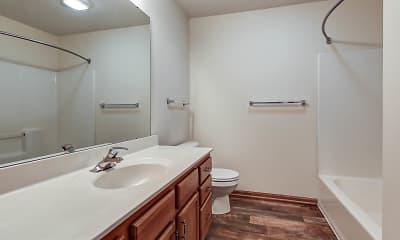 Bathroom, Door Creek, 2