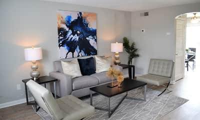 Living Room, The Life at Harrington Park, 0